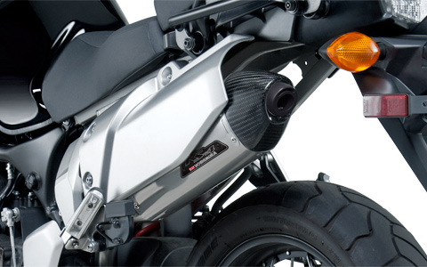 Works Finish Yoshimura RS-4 Exhaust for Yamaha Super Tenere
