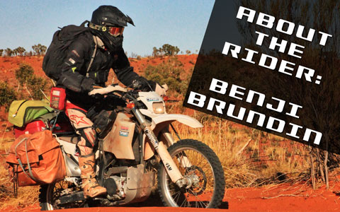 About the Rider: Benji Brundin