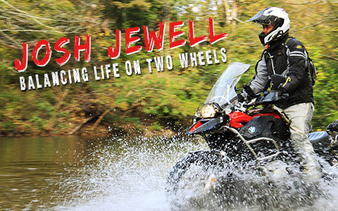 Josh Jewell: Balancing Life on Two Wheels