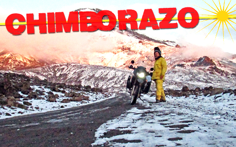 Chimborazo: Motorcycling to the Highest Point from Center Earth