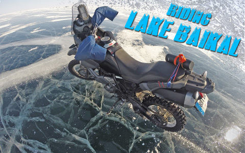 Winter Riding Russia's Lake Baikal